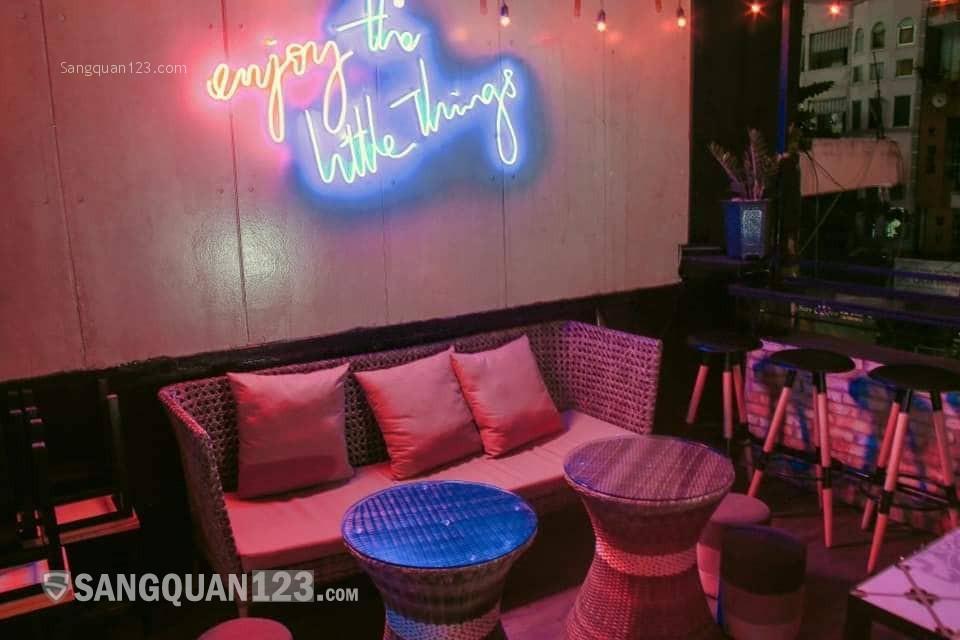 Sang quán kinh doanh mô hình Cocktails Bar ở trung tâm quận 1