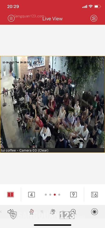Cần sang gấp quán Cafe vị trí cực đẹp, mt Quận Bình Tân - DT : 7 x 14m