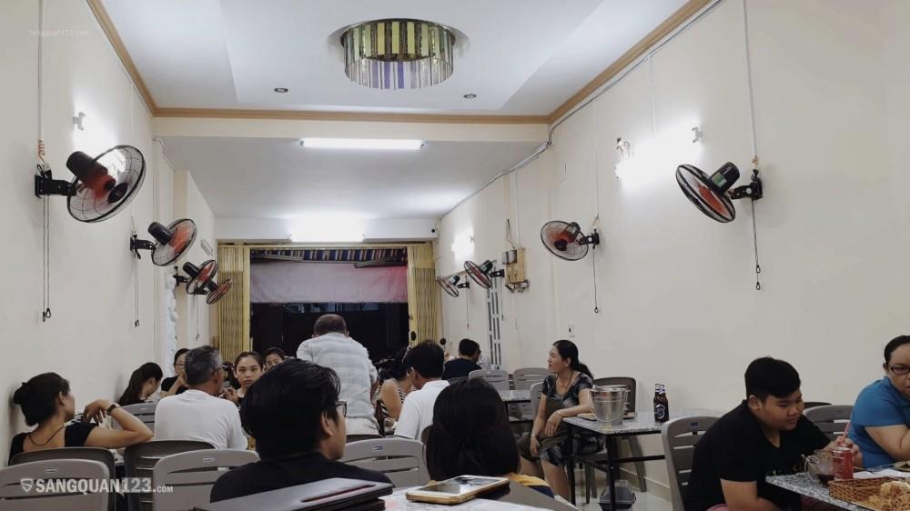 Sang quán ăn mặt tiền Bình Thạnh 2 lầu, 2 cửa trước sau, diện tích 4x22m