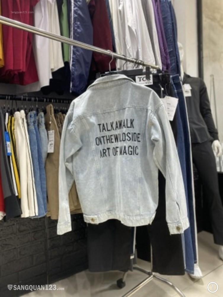 Sang cửa hàng thời trang nam đường cách mạng tháng tám, giáp hoà hưng và tô hiến thành