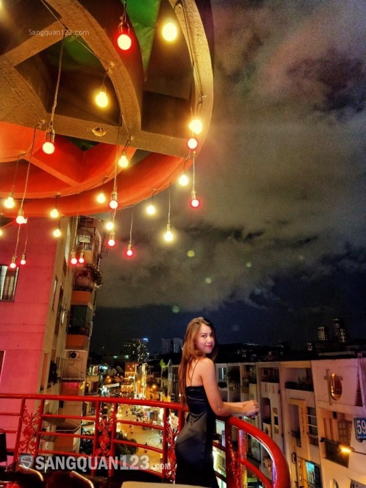 Sang quán cafe 2 mặt tiền đường Hoa Sứ Quận Phú Nhuận