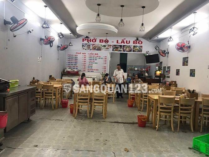 Sang lại quán Phở - Lẩu Bò đường Phạm Thị Tánh, Phường 4, Quận 8