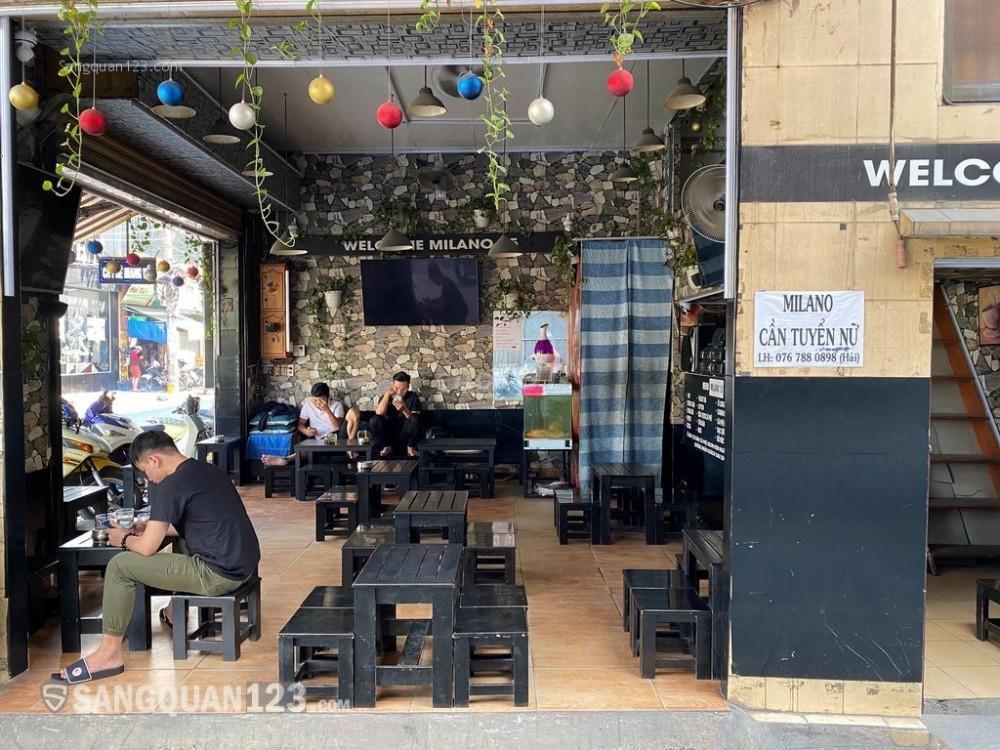 Sang nhượng quán cafe Milano kinh doanh được 7 năm