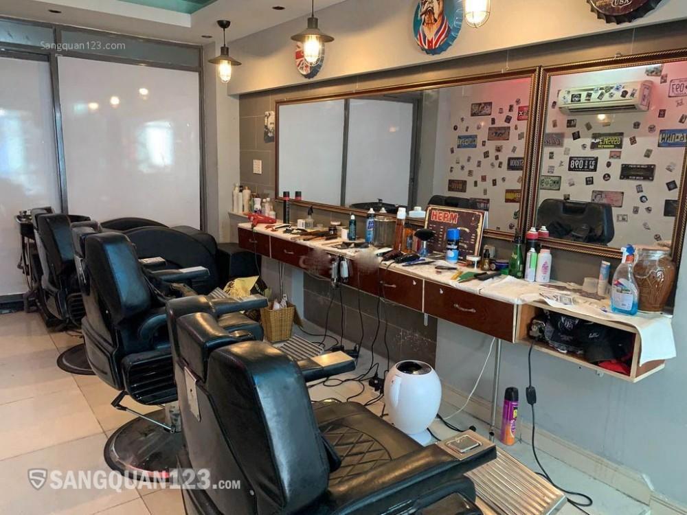 Sang nhượng tiệm Barber Shop giá rẻ full dụng cụ tại Quận 11