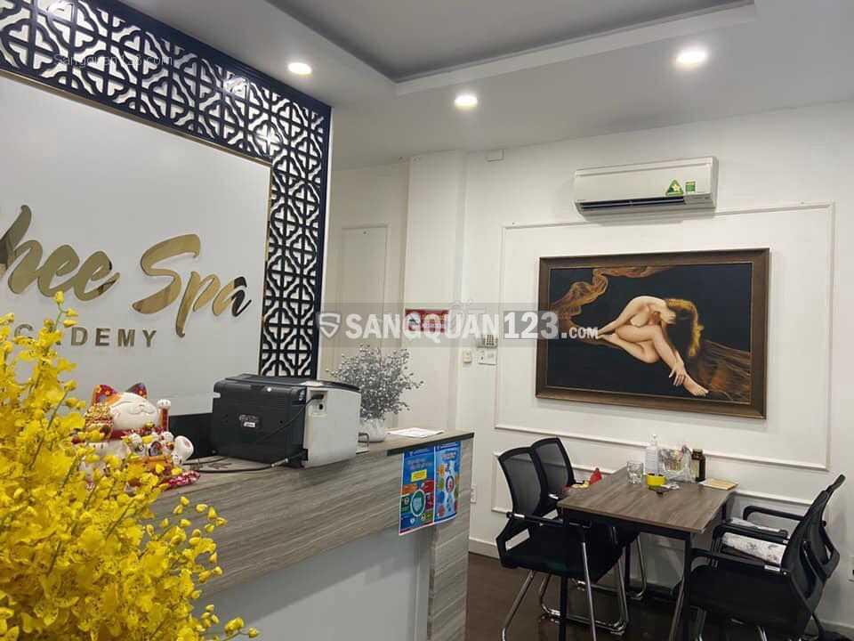 Sang nhượng lại bằng bằng KD Spa đường Nguyễn Trãi Quận 5