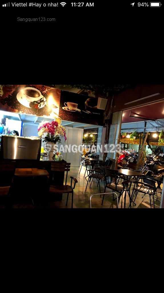 Sang quán Nhân coffee ngay góc 2 MT đường Phan Đình Phùng, Tân Phú