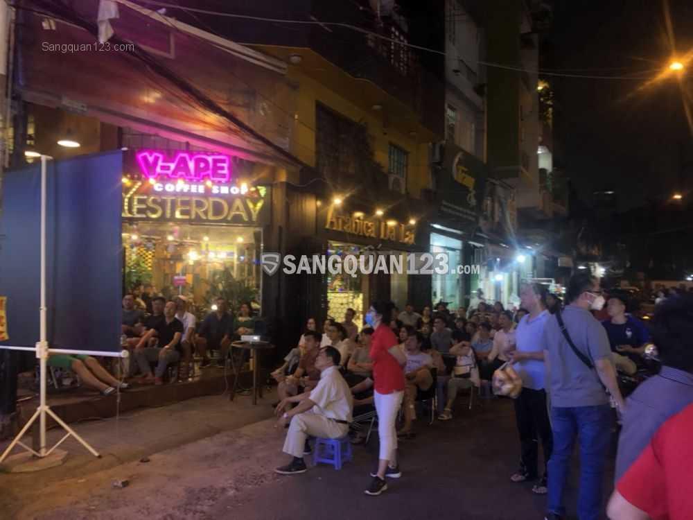 Sang quán cà phê 2 MT đường Hoa Sứ -Phan Xích Long