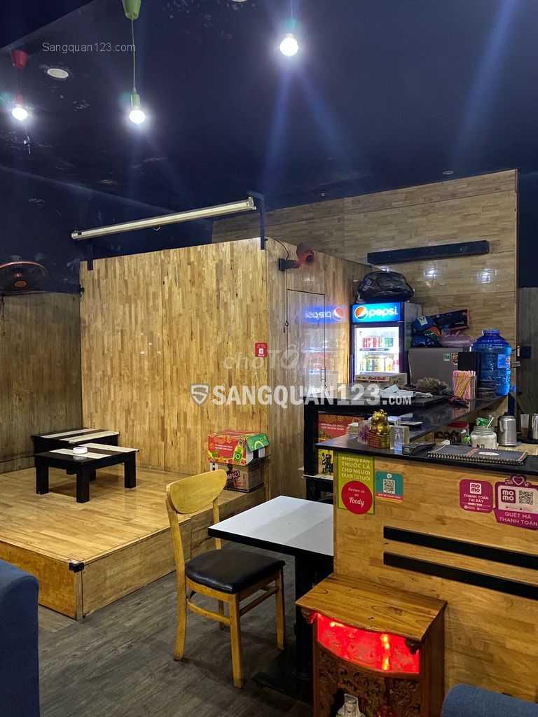 Sang lại quán cafe mặt tiền quận Bình Thạnh, HCM