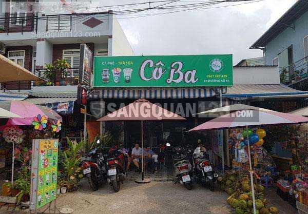 Chính chủ sang quán Coffee - Trà Sữa đang kinh doanh tốt Q. Bình Tân
