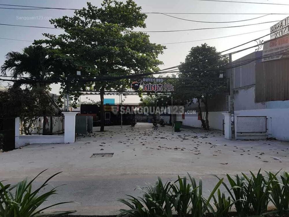 Sang nhượng quán mặt tiền đường Trần Văn Giàu, Bình Chánh diện tích 850m2