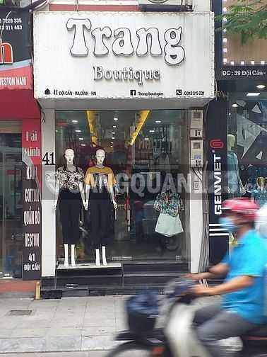 Cần sang nhượng lại Shop quần áo thời trang