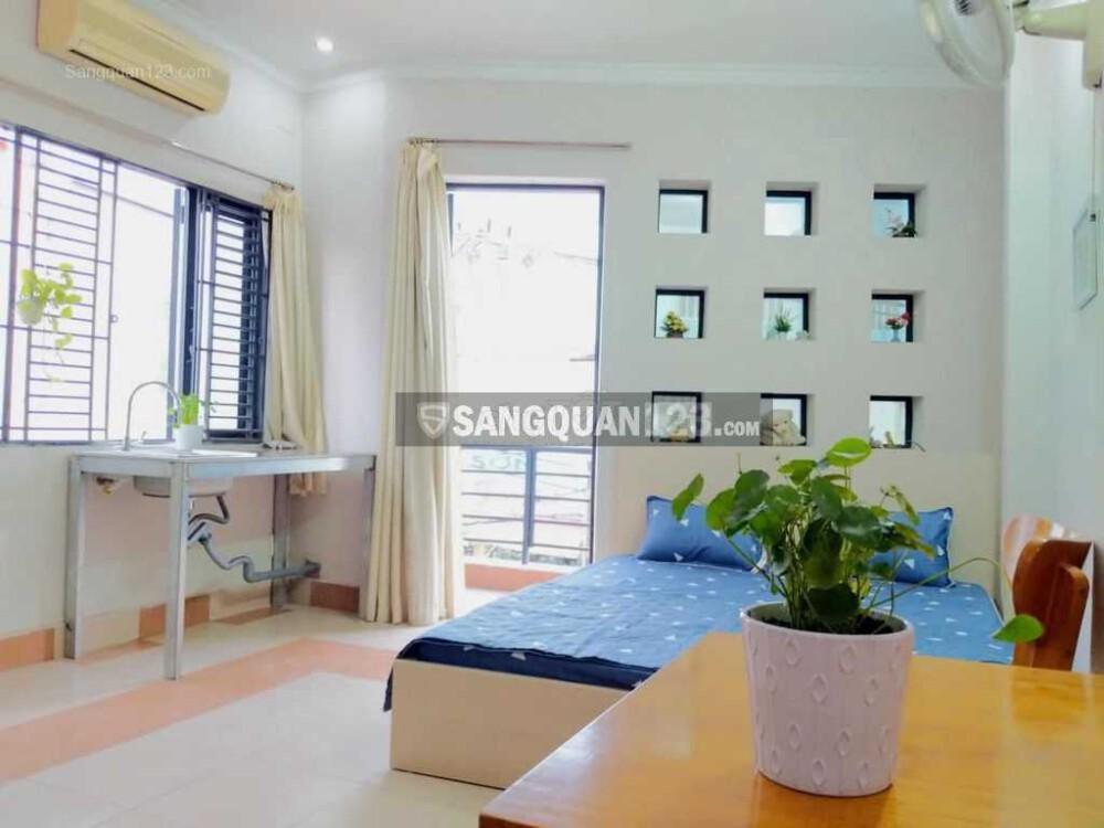 Sang lại căn hộ Dịch vụ + MB kinh doanh mặt tiền đường Lê Quang Định