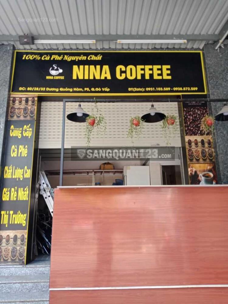 Về quê nên cần sang nhượng gấp quán cafe
