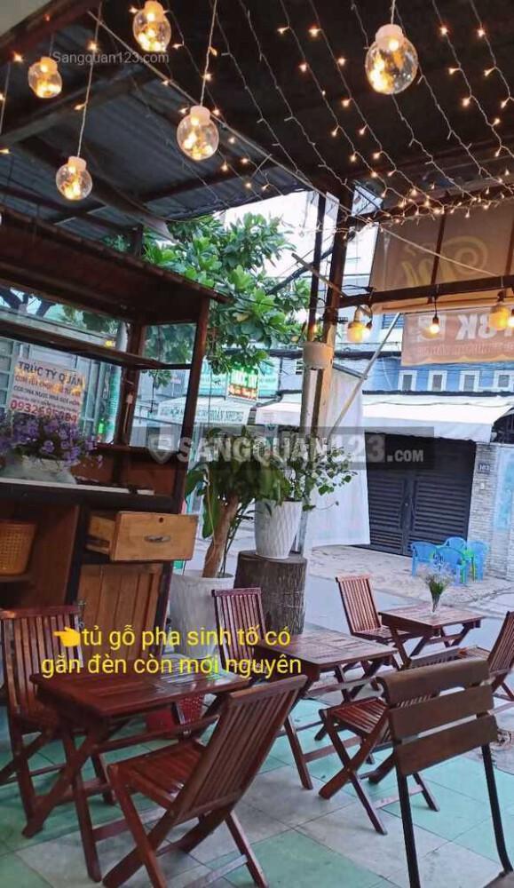 Cần sang nhượng quán cafe + cơm gần chợ Phạm Văn Bạch