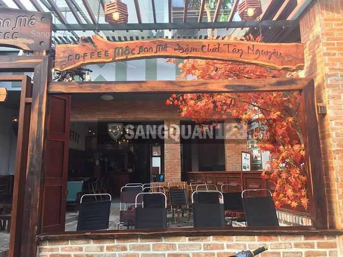 Sang quán gấp quán cafe, mặt bằng hoặc thanh lý đồ dùng quán