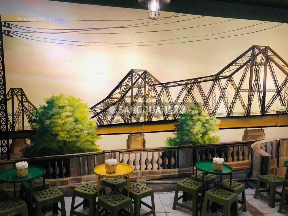 Sang nhượng quán trà chanh gần đại học Công nghiệp