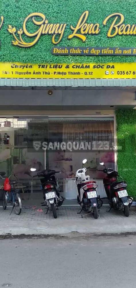 Sang Spa mini 60 triệu đường Nguyễn Ảnh Thủ, Q12