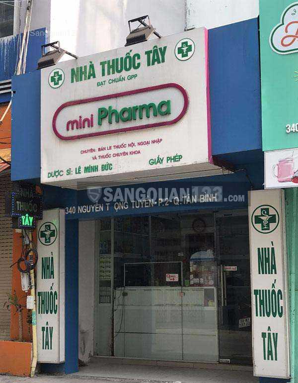 """Cần sang tiệm thuốc tây """"nhà thuốc mini Pharma"""""""
