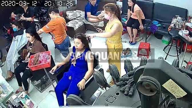 Sang tiệm tóc Nữ đường Trương Phước Phan, Q. Bình Tân