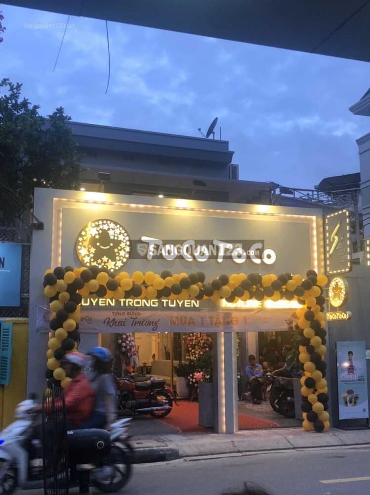 Cần sang lại gấp quán trà sữa Toco Toco doanh thu tốt, lượng khách ổn định