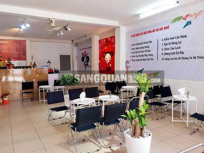 Sang nhượng quán cafe, trà sữa, Yogurt MT đường Hoàng Diệu 2
