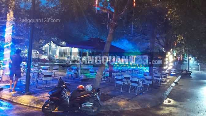 Sang quán cafe sân vườn thiết kế đẹp ở thị trấn Mỹ Luông