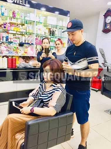 Sang nhượng Salon tóc Phát New Hair Tân Thuận Đông, Quận 7