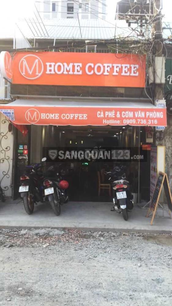 Sang lại quán cà phê cơm trưa văn phòng
