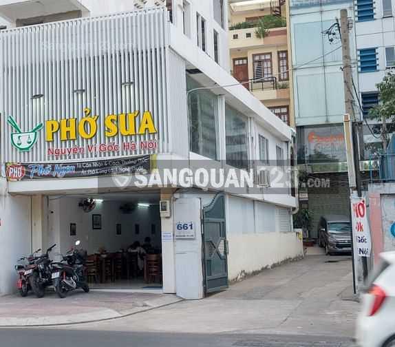 Sang lại quán Phở Sưa, 661 Nguyễn Kiệm, phường 9, quận Phú Nhuận