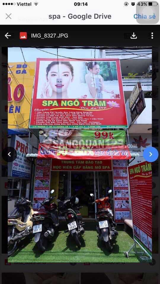Cần Sang Spa Gấp Phường An Lạc A, Quận Bình Tân