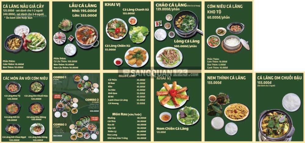 Cần sang nhà hàng CHẢ CÁ LĂNG - CHẢ CÁ LÃ VỌNG gần sân bay