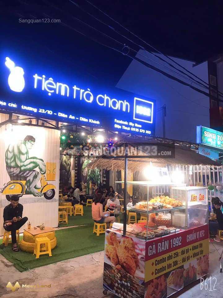 Cần sang nhượng quán trà chanh tại Diên An, Diên Khánh, Khánh Hòa